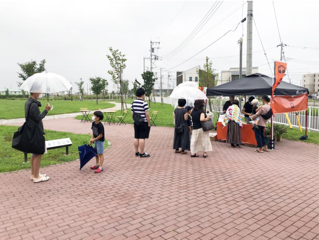 公共空間利活用実験「美園マチなかロビー2020」